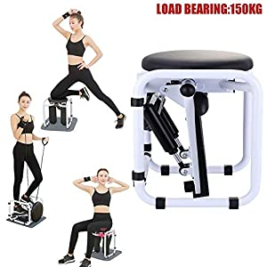 Stepper, Stair Aerobic Stepper, Multifunctional Fitness Equipment for Women, 2 in 1 Stepper for Exercise with Resistance…