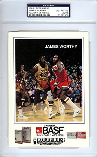 james-worthy-autographed-1983-lakers-basf-card-psa-dna-83722309