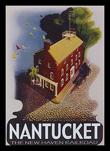 Buyartforless Framed Nantucket Art Print Poster, 16