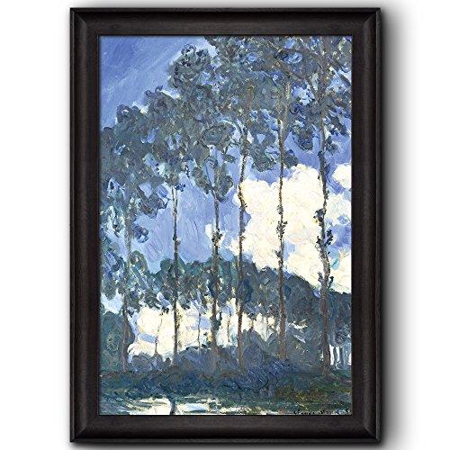 Poplars on the Banks of the Epte by Claude Monet Framed Art