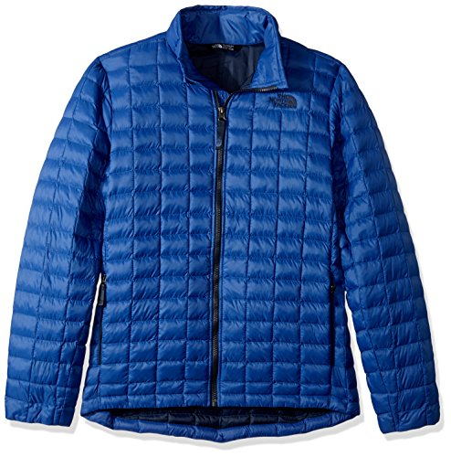 The North Face Boy's Thermoball Full Zip Jacket Bright Cobalt Blue