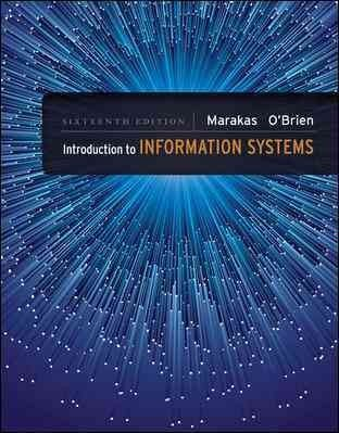 Intro.To Information Systems(Looseleaf)