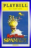 Monty Python's Spamalot, Broadway playbill + David Hyde Pierce, Hank Azaria, Tim Curry, Sara Ramirez, Christopher Sieber