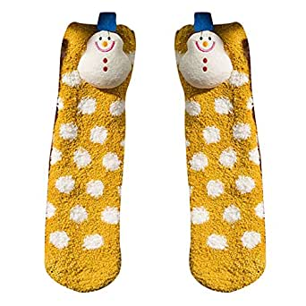 Mujeres Niñas Malla Navidad Imprimir Calcetines Para Mujer Toalla ...
