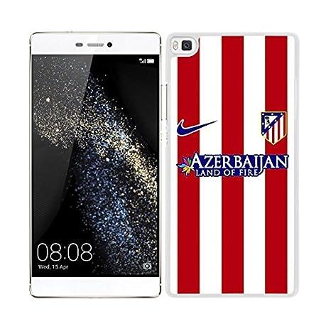 FUNDA CARCASA PARA Huawei P8 Lite DISEÑO ATLÉTICO DE MADRID ...