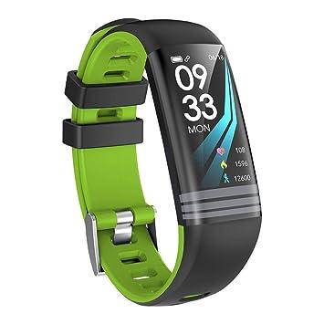 Miss de a Smart Pulsera, 2018 G26 Color Display Smart Pulsera, tensiómetro de frecuencia cardíaca Monitoreo de la Salud Bluetooth Sport Paso Información ...