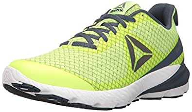 Reebok Men's OSR Sweet RD SE Running Shoe, Electric Flash/Smoky Indigo/Black/White/Pewter, 7 M US