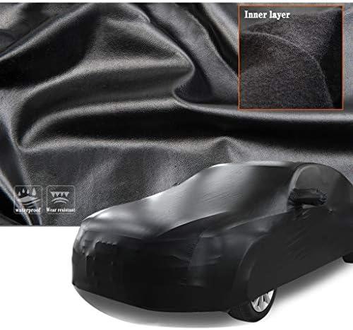 BMW M4弾性布断熱防水屋外カーカバー断熱キープのウォーム難燃性オールウェザーカーの保護と互換性のカーカバー (Model : M4 Cabrio)