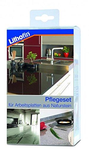 Lithofin Pflegeset Compact 800 Ml - Professionelle Reinigung Und