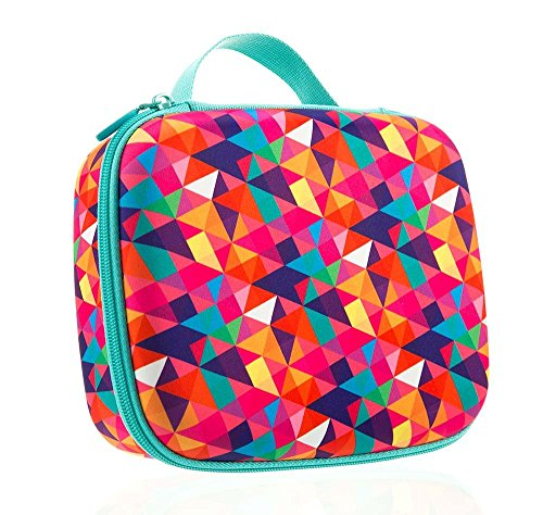 ZIPIT Colorz Lunch Box, Colorful Triangles