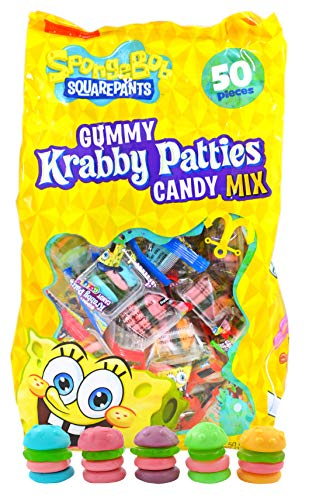 Gummy Krabby Patty (Spongebob Squarepants Gummy Krabby Patties Candy Colors (50)