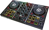 Numark Party Mix | Starter DJ Controller with Built-In Sound Card & Light...