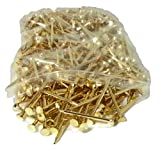 PROTEE Golf Tees (500-Pack), Gold Shiny