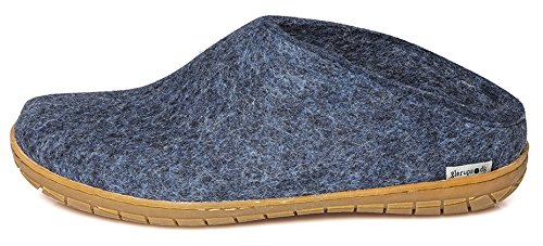 Glerups Unisex Model BR Denim Slipper - 45