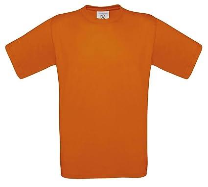 B&C Kids Exact 150 T-Shirt Orange 5/6 [Apparel]