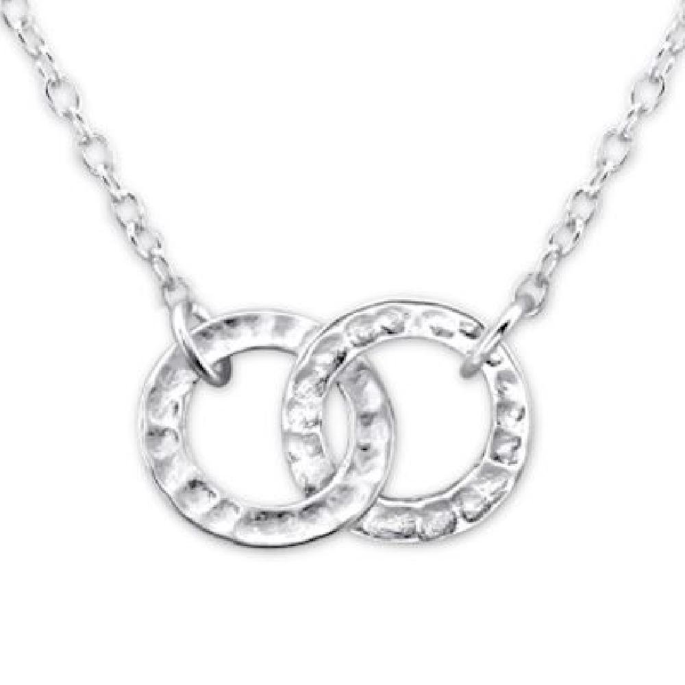 925 Sterling Silver Round Necklace So Chic Jewels
