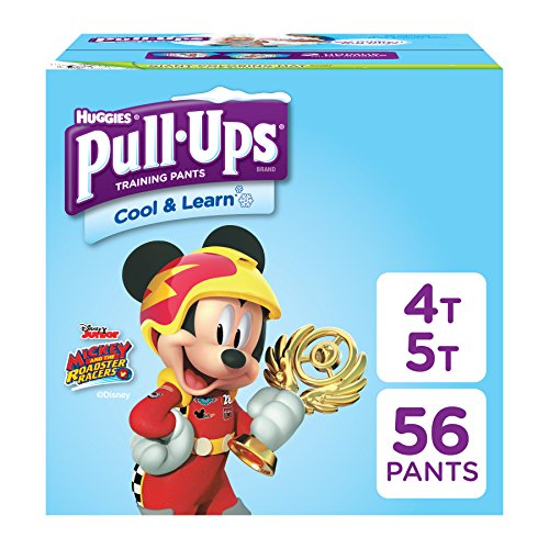 PULL-UPS Cool and Learn Training Pants for Boys, 4t-5t, Giga