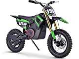 MotoTec 36v Pro Electric Dirt Bike; 36 Volt 1000 Watt, Lithium Ion, Green