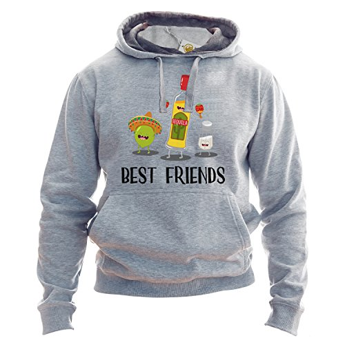 BFF Hoodie Best Friends Forever Tequila Lime Salt Unisex Pullover