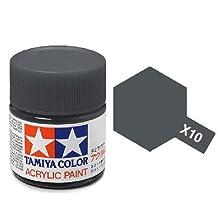 TAMX10 81510 Acrylic Mini X10 Gunmetal 1/3 oz