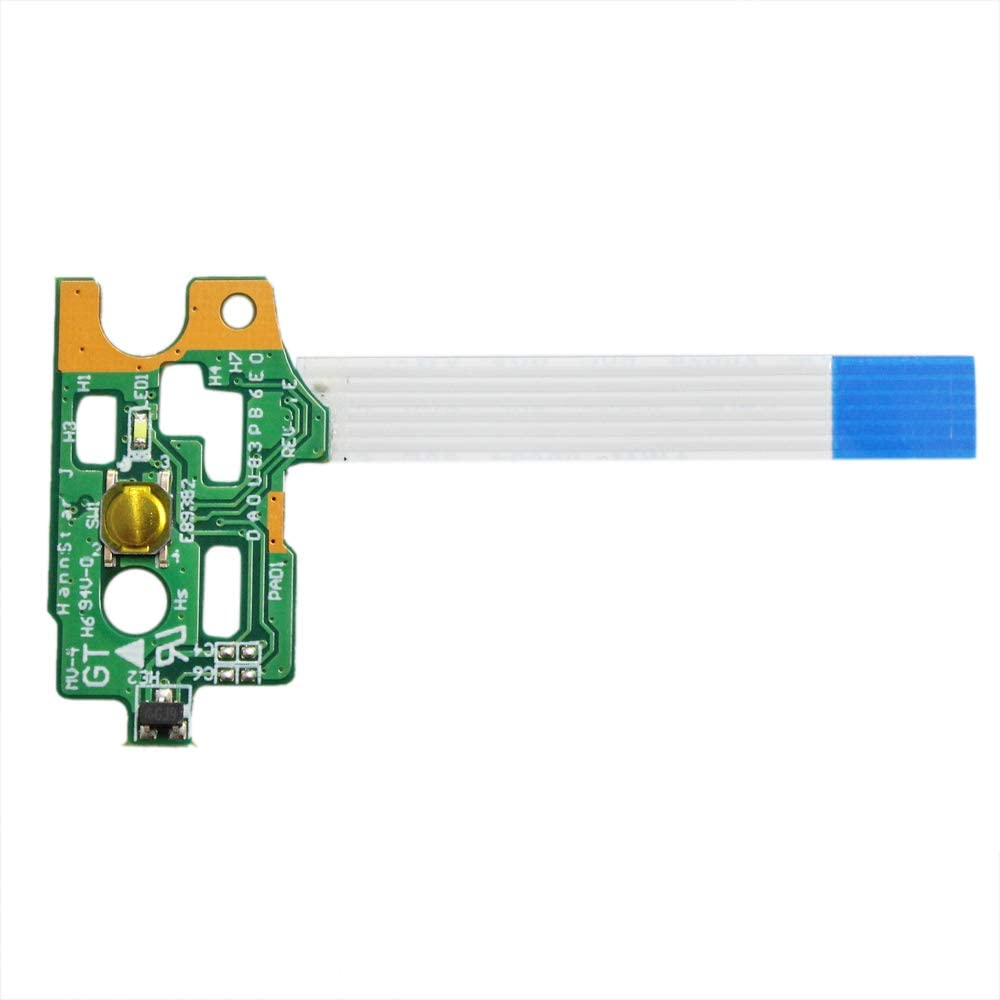GinTai New Power Button Board W/ Ribbon Replacement For HP Pavilion 14-N DA0U83PB6E0 15-N 732076-001 15-F 776780-001 15-f023wm 15-f024wm 15-f027ca 15-f033wm 15-f039wm 15-f048ca 15-f059wm