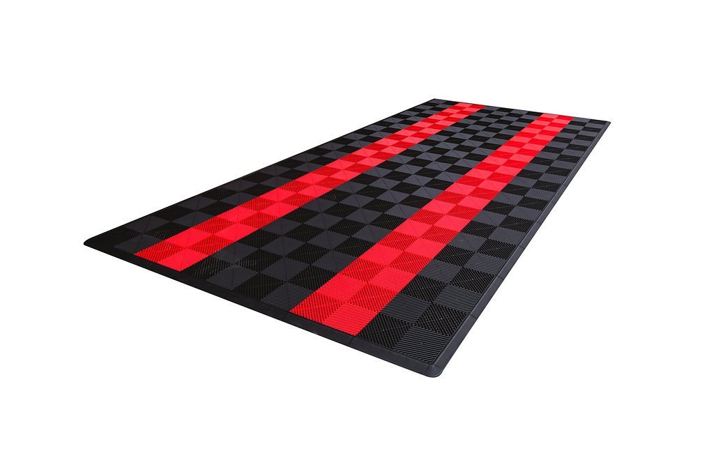 Dodge Single Car Parking Pad by Ribtrax - Design 3