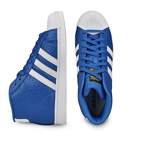 adidas Superstar Pro Model Animal - Zapatillas Unisex adulto blue/ftwr white/gold metallic