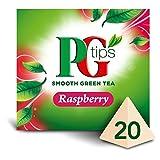 PG Tips Green Tea Raspberry - 20's - Pack of 2 (20's x 2) (0.99 oz x 2)