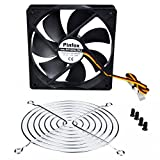 Pinfox 12V DC 120mm Quiet Cooling Fan