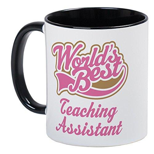 CafePress Teaching Assistant Mug Unique Coffee Mug, Coffee Cup