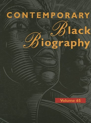 Download Contemporary Black Biography: Profiles from the International Black Community ebook