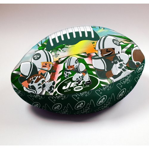 New York Jets Football Rush Zone pillow