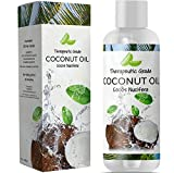 long hair oil conditioner - Coconut Oil for Skin Care – Pure Fractionated Coconut Oil for Hair Growth for Women & Men – Sensual Massage Oil with Aromatherapy Benefits – Paraben Free – Cruelty Free – 8oz by Honeydew