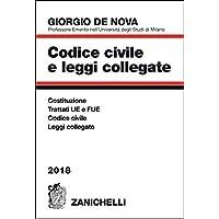 Codice civile e leggi collegate 2018.