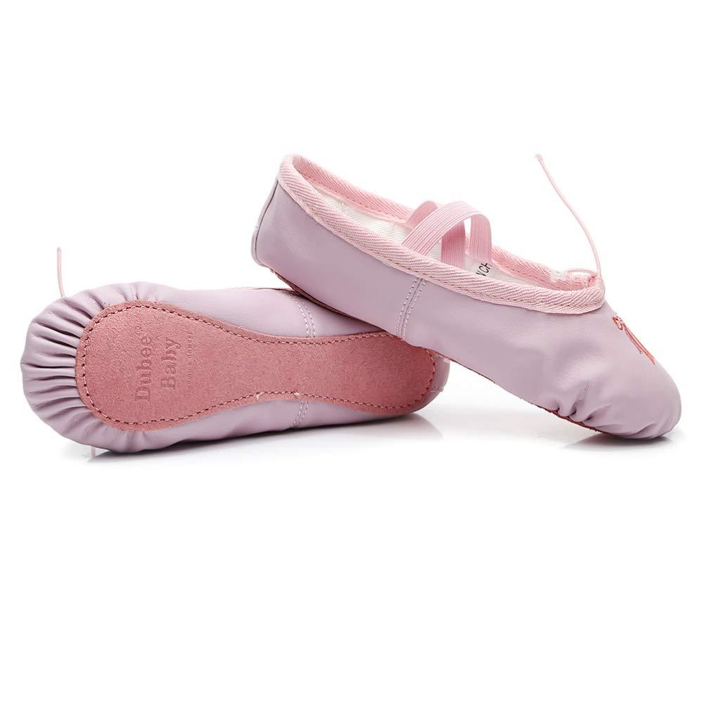 ae092dda DubeeBaby Leather Ballet Shoes Slipper,Split Sole&Full Sole  Flats(Girls/Women/Toddlers