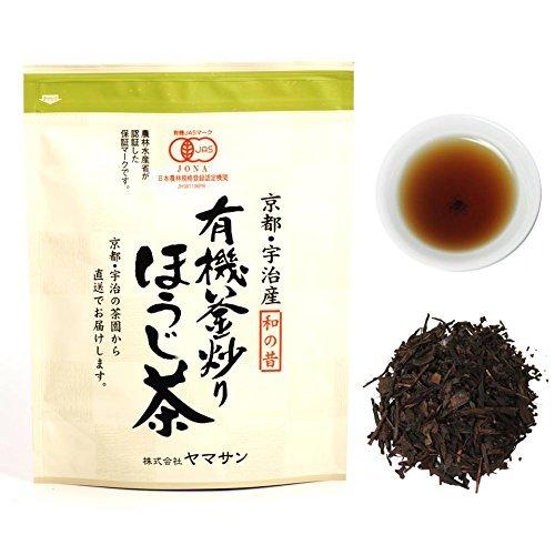 CHAGANJU Organic Japanese Roasted Tea Houjicha 150g ()