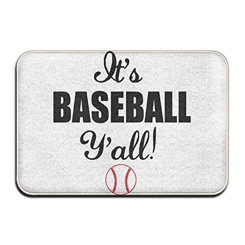 ACD&TV slip mat Home Door Mat Baseball Doormat Door Mats Entrance Rugs Anti Slip 4060 For Indoor Outdoor -