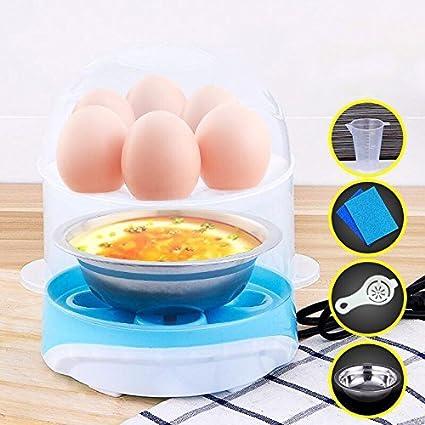Cocina de Huevo Eléctrico, Webat Hervidores para huevos Apagado Automático, 360W (Egg-4)