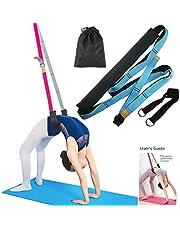 TSLAKEY Yoga Fitness Stretching Strap - Back Bend Assist Trainer, Improve Leg Waist Back Flexibility for Rehab Pilates Ballet Dance Cheerleading