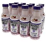 Cheap Muscle Milk Smoothie Protein Yogurt Shake, Strawberry Banana, 25g Protein, 15.8 FL OZ, 12 count