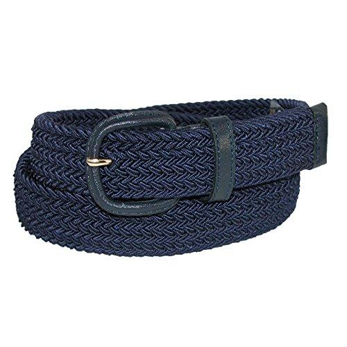 Aquarius Elastic Belt, Navy, 34-36