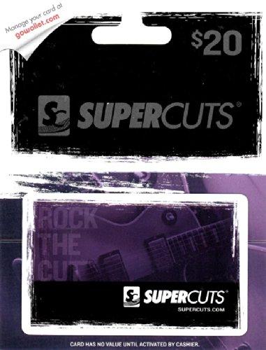 Supercuts $20 Gift Card