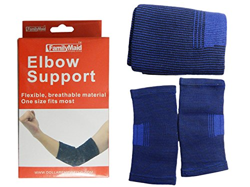 ELBOW SUPPORT 2PC , Case of 96 by DollarItemDirect