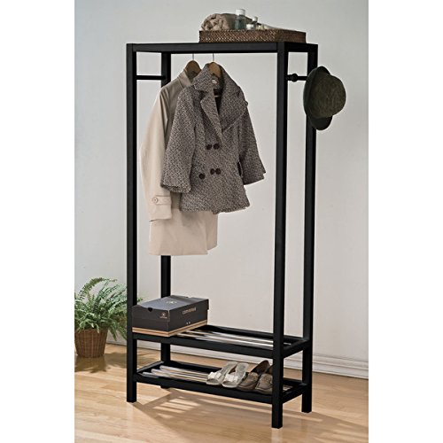 Asian Modern Furniture - ACME Furniture 98101 Maeve Garment Rack, Black