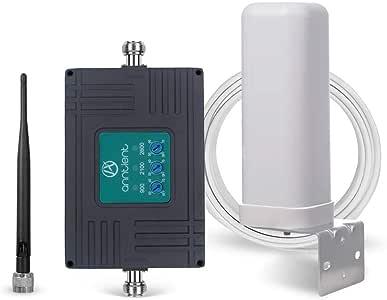 ANNTLENT Amplificador Señal Movil 2G 3G 4G Tri-Band Repetidor gsm 900/2100/2600MHz Amplificador Cobertura Movil Mejorar la Red y Llamar para Movistar/Orange/Yoigo/Vodafone: Amazon.es: Electrónica