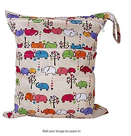 Bolsa para pañales, isuper bolsas reutilizables Pañales funda Toallitas Organiser Baby Bolsa para pañales (