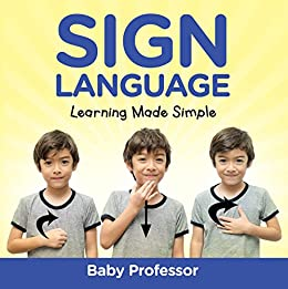 Sign Language Workbook Kids Learning ebook product image