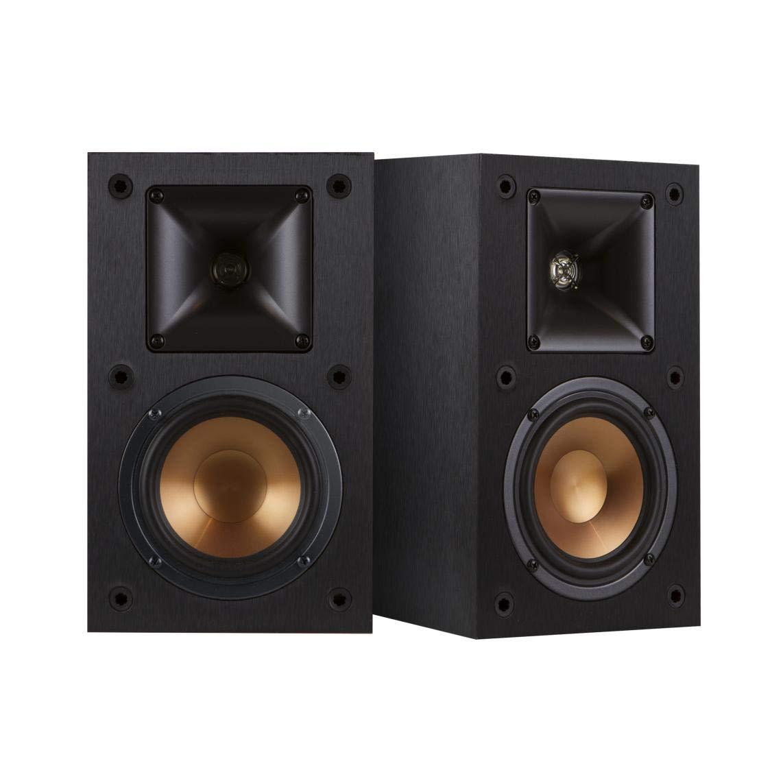 Amazon.com: Klipsch R-14M 4-Inch Reference Bookshelf Speakers (Pair,  Black): Home Audio & Theater