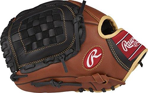 Rawlings Sandlot Series Leather Basket Web Baseball Glove, 12