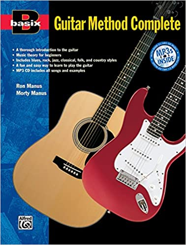 basix guitar method complete book mp3 cd basixr series